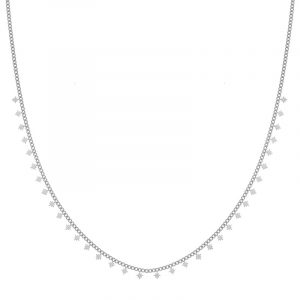 Necklace tiny Northstars silver