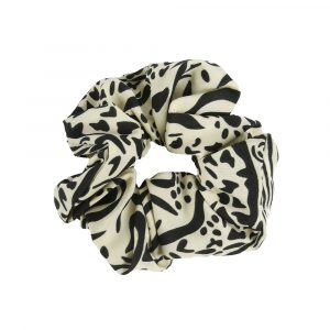 Scrunchie animal beige