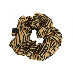 Scrunchie animal brown