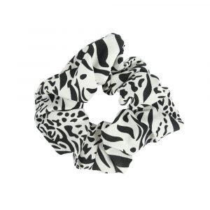 Scrunchie animal white