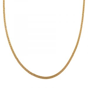 Necklace basic chain gold