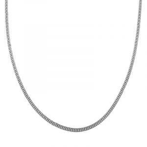 Necklace basic chain silver